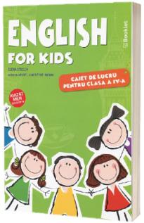 English for kids Caiet de lucru clasa pentru clasa a IV-a. Editia a III-a