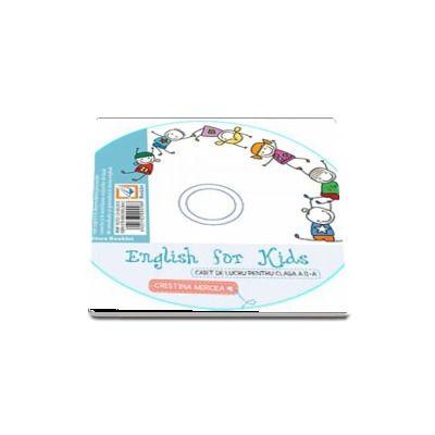 English for kids CD-ul aferent caietului de lucru clasa pentru clasa a II-a - Cristina Mircea (Editia 2017)