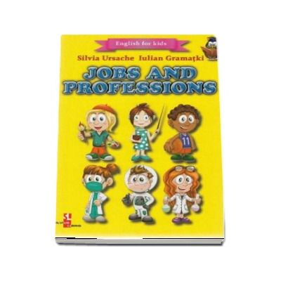 English for kids - Jobs and Professions (Contine 16 cartonase cu imagini color)