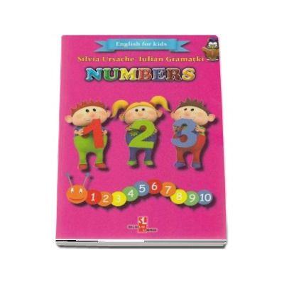 English for kids - Numbers (Contine 32 cartonase cu imagini color)
