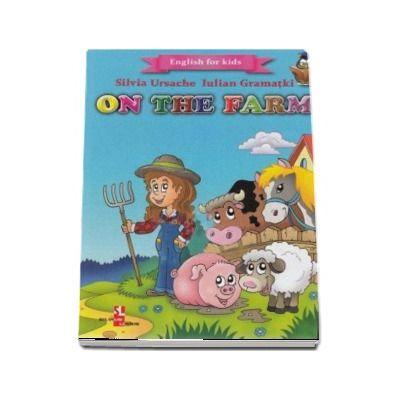 English for kids - On the farm (Contine 16 cartonase cu imagini color)