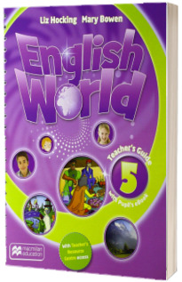 English World Level 5 Teachers Guide with eBook Pack