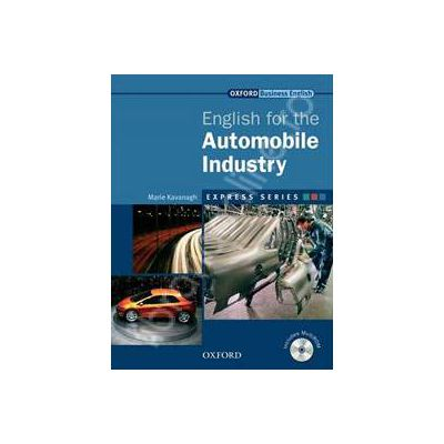 Express Series English for the Automobile Industry  Students Book and MultiROM Pack