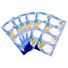 Etichete scolare autoadezive, 20 buc/set, Zane, Luna