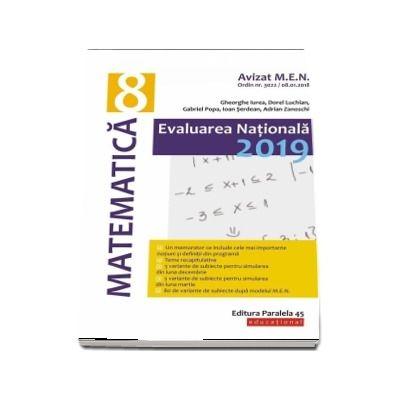Evaluare nationala 2019, matematica pentru clasa a VIII-a