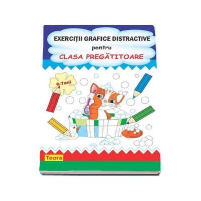 Exercitii grafice distractive pentru clasa pregatitoare (6-7 ani)