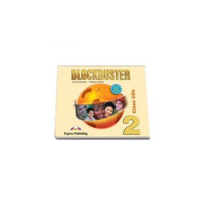 Curs de limba engleza Blockbuster 2. Audio Class CD (4 CDs)