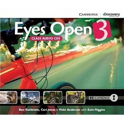 Eyes Open Level 3 Class Audio CDs