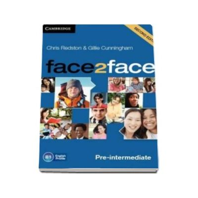 Face2Face 2nd Edition Pre-intermediate Class Audio CDs (3) - Pentru clasa a XI-a