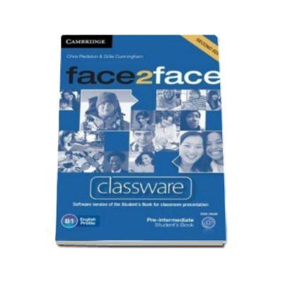 Face2Face 2nd Edition Pre-intermediate Classware DVD-ROM - Pentru clasa a XI-a