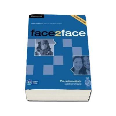 Face2Face 2nd Edition Pre-intermediate Teachers Book with DVD - Manualul profesorului pentru clasa a XI-a (Contine DVD)