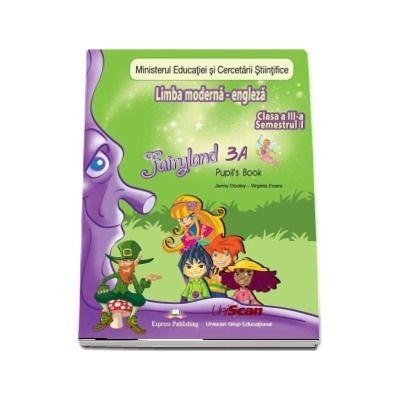 Fairyland 3A, Pupils Book. Manual de Limba Engleza pentru clasa a III-a - Semestrul I (Contine CD cu manualul in format digital)