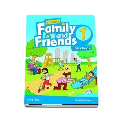 Family and Friends 1. 2nd edition. Class Book and MultiROM Pack