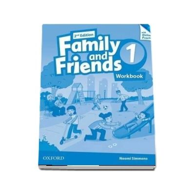 Family and Friends 1, 2nd Edition. Workbook with Online Practice