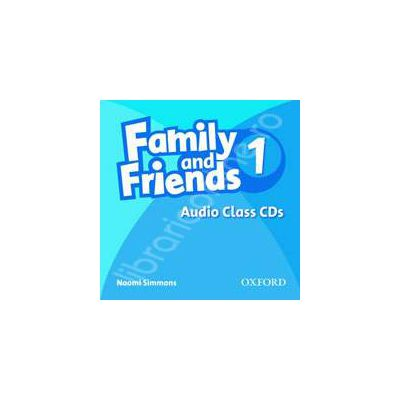 Family and Friends 1. Class Audio CDs