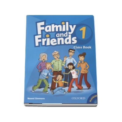 Family and Friends 1. Class Book and MultiROM Pack