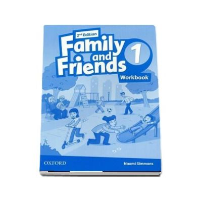 Family and Friends 1. Workbook, 2nd edition