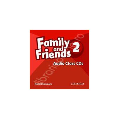 Family and Friends 2. Class Audio CDs