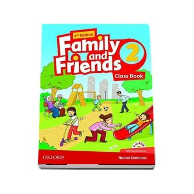 Family and Friends 2. Class Book and MultiROM Pack with animated stories, 2nd Edition