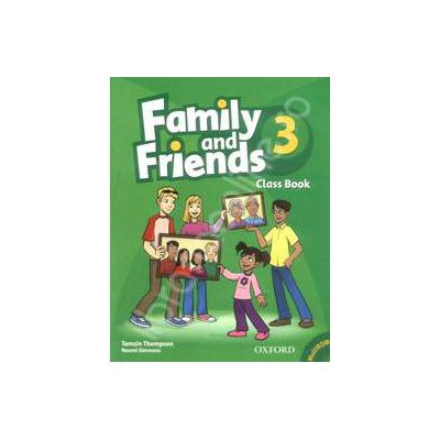 Family and Friends 3. Class Book and MultiROM Pack