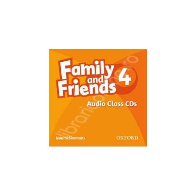 Family and Friends 4. Class Audio CD