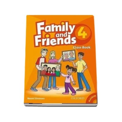 Family and Friends 4. Class Book and MultiROM Pack