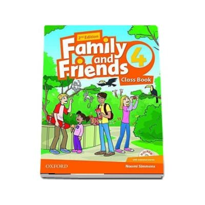 Family and Friends 4. Class Book and MultiROM with animated stories, 2nd Edition