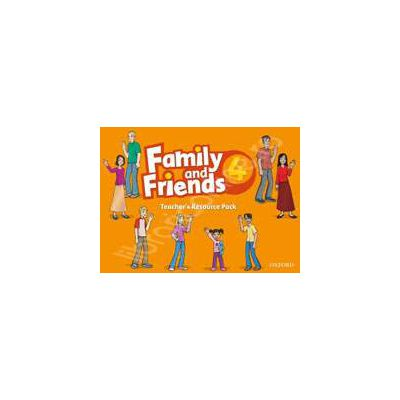 Family and Friends 4. Teachers Resource Pack