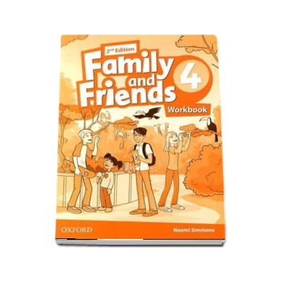 Family and Friends 4. Workbook, 2nd Editions