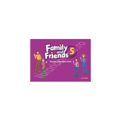 Family and Friends 5. Teachers Resource Pack