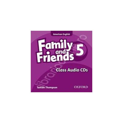 Family and Friends American Edition 5. Class CD