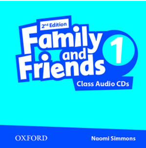 Family and Friends, Level 1. Class Audio CDs