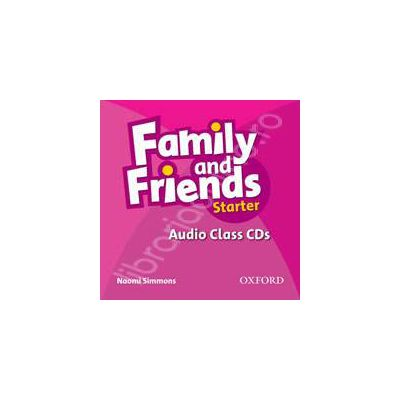 Family and Friends Starter. Audio Class CD