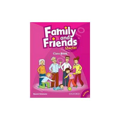 Family and Friends Starter. Class Book plus Student Multi-ROM