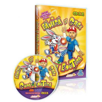 Fanica si CRBL, Cupa EduTeca. Jocuri educationale 3-7 ani, plus CD cadou muzica CRBL, Ce-avem noi aici? (Editie parinti si copii)