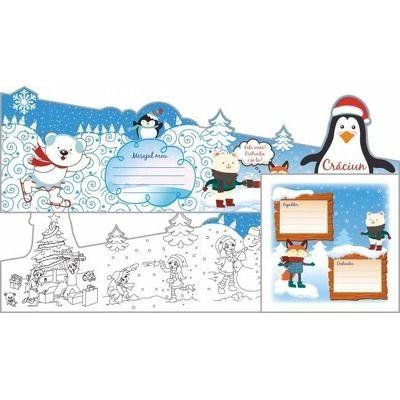 Felicitare, In lumea lui Pingu