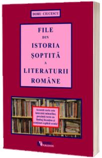 File din istoria soptita a literaturii romane