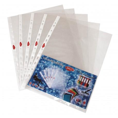 File protectie Daco A4, cristal, 40 microni