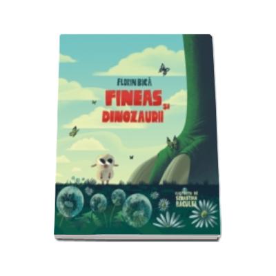 Fineas si dinozaurii - Ilustratii de Sebastian Baculea