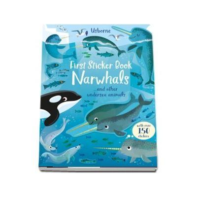First Sticker Book Narwhals