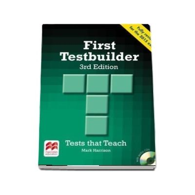 First Testbuilder. Students Book without key Pack, 3rd edition