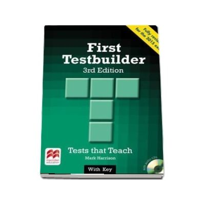 First Testbuilder. Students Book with key Pack, 3rd edition