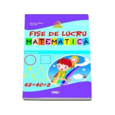 Fise lucru matematica clasa a II-a