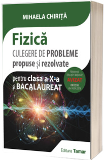 Fizica, culegere de probleme propuse si rezolvate pentru clasa a X-a si Bacalaureat