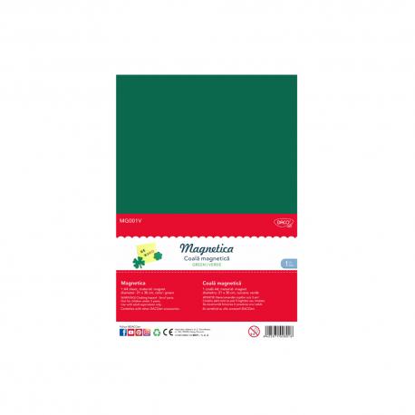 Folie magnetica A4 verde Daco