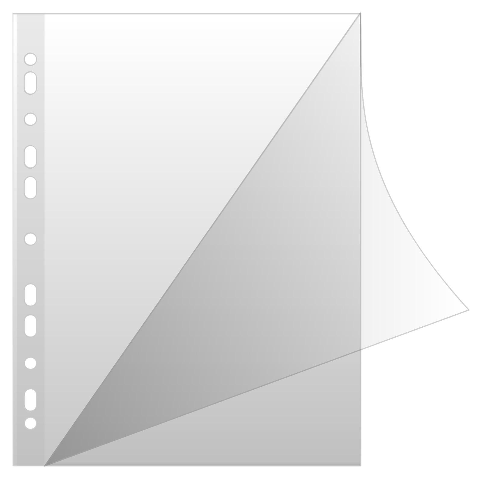 Folie protectie L pentru documente A4, 150 microni, 50 buc/set, Donau- cristal