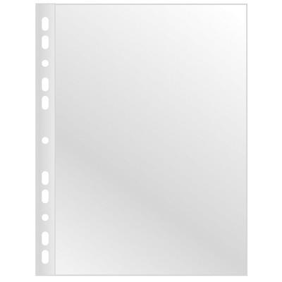 Folie protectie pentru documente, 120 microni, 100folii/cutie, Q-Connect - cristal
