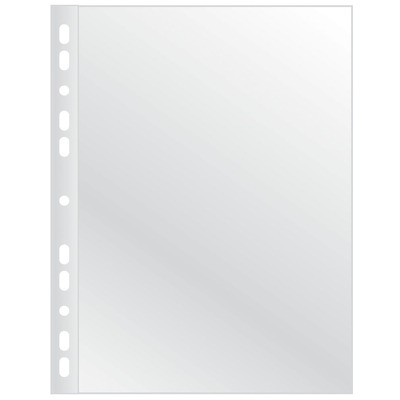 Folie protectie pentru documente,  75 microni, 100folii/set, Q-Connect - cristal