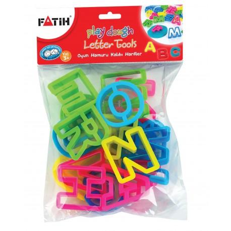 Forme modelat plastilina litere Fatih