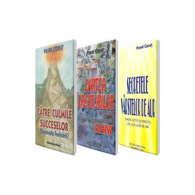 Formula succesului Pavel Corut, set 3 carti